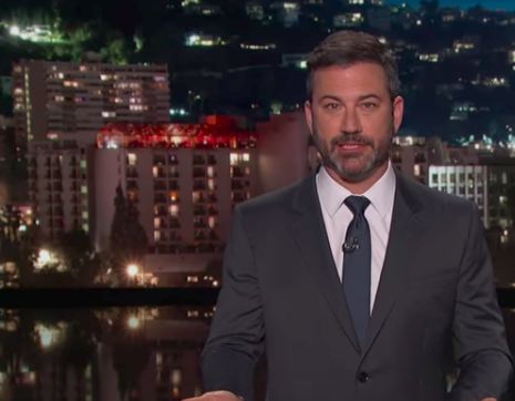 A Relentless Kimmel Goes After Health Care Bill Again