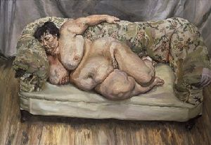 Benefits Supervisor Sleeping, by British artist Lucian Freud, sold for $33.6 million at Christie's in New York.