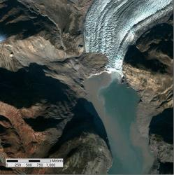 Taan Fiord after the Oct. 17 landslide