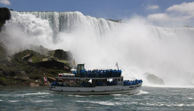 Plan would shut off Niagara Falls for bridge repair