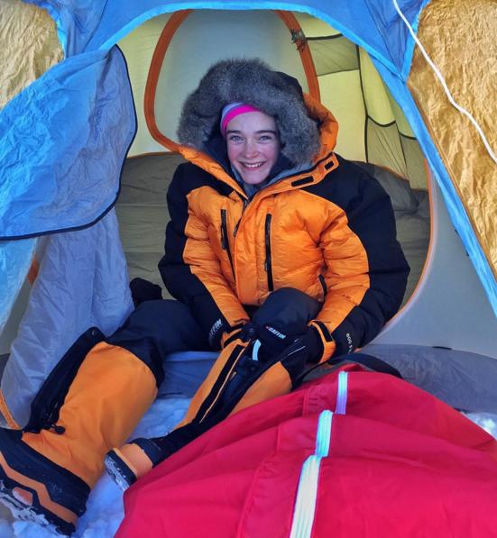 14 ans ski pole nord