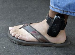 A Man Wears An Ankle Bracelet In Ap File Photo Jae C Hong