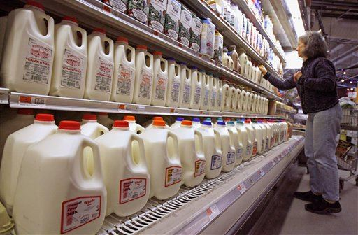 Farmers dump millions of gallons of extra milk