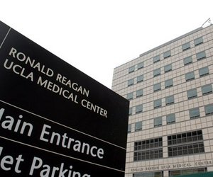 This June 4, 2007 file photo released by UCLA shows an exterior view of the new Ronald Reagan UCLA Medical Center in Los Angeles.