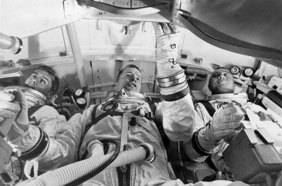 50 Years Ago Today, a Fire Killed 3 NASA Astronauts