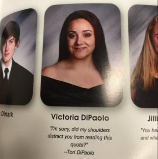 senior brings the sass to her yearbook quote
