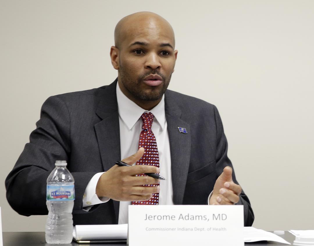 Trump Surgeon General Pick Jerome Adams Fought Indiana HIV Outbreak