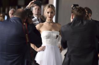 14 2016 File Photo Jennifer Lawrence Arrives At The Los Angeles Premiere Of Passengers Village Theatre Westwood