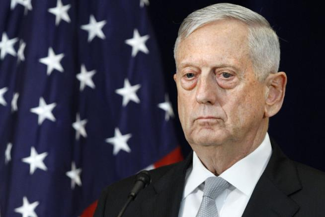 Mattis to Troops: 'Hold the Line' for Divided America