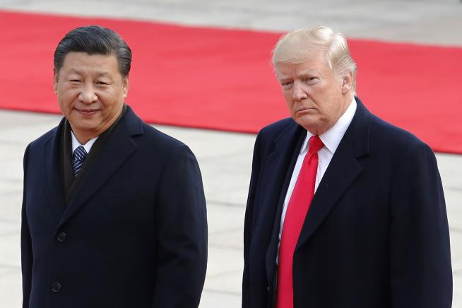 Trump Skirts 'Great Firewall' of China to Tweet During Beijing Visit