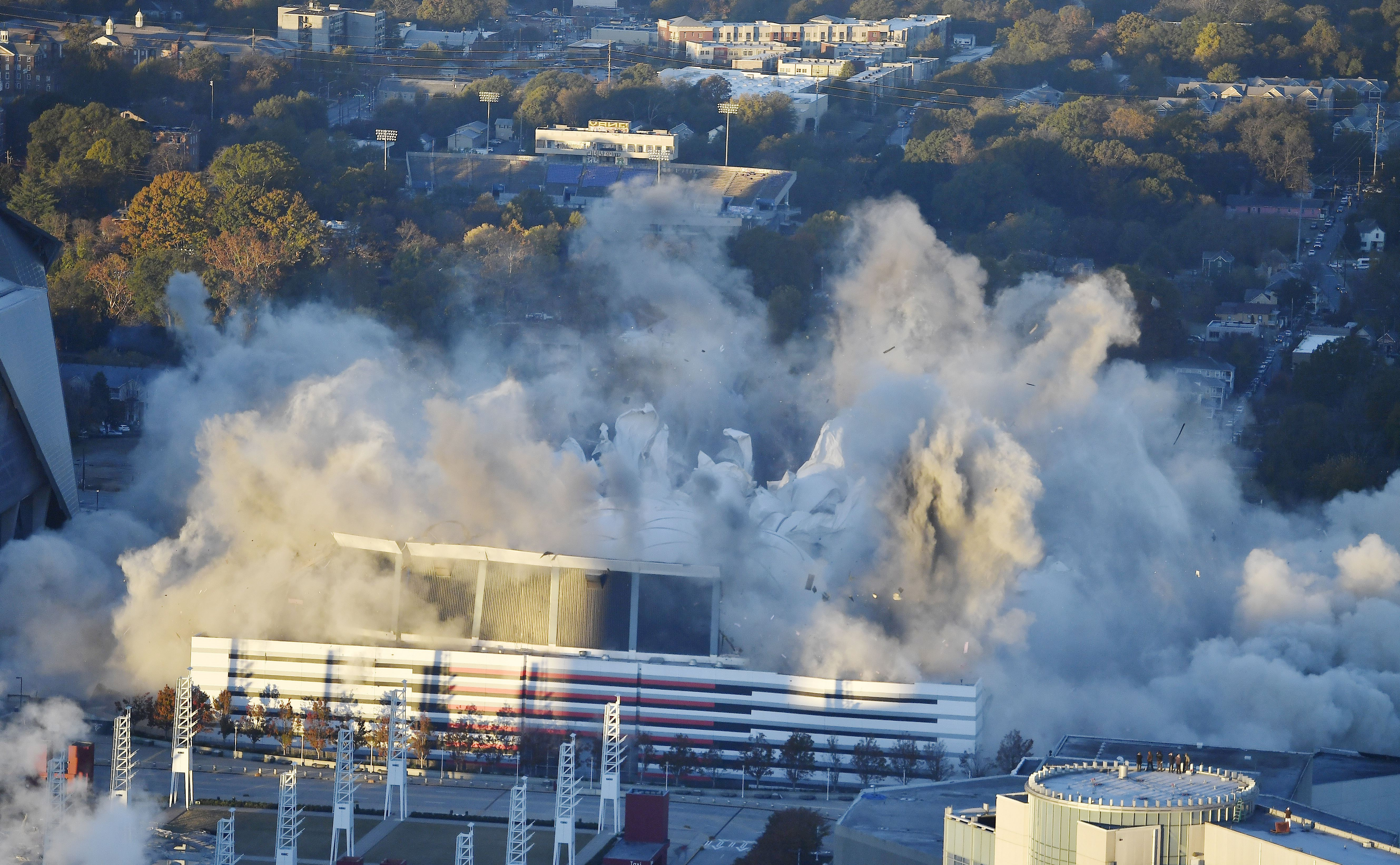 One of Our Biggest Domed Stadiums Just Imploded