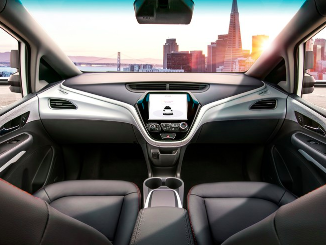 GM debuts self-driving vehicle with no steering wheel