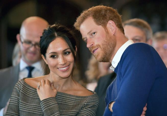 Prince Harry 'at her side' as Meghan Markle is reportedly baptised
