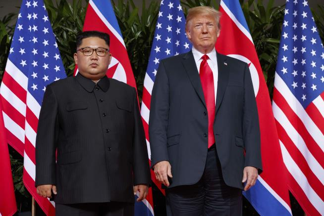Trump received letter from North Korea's Kim on August 1 - White House