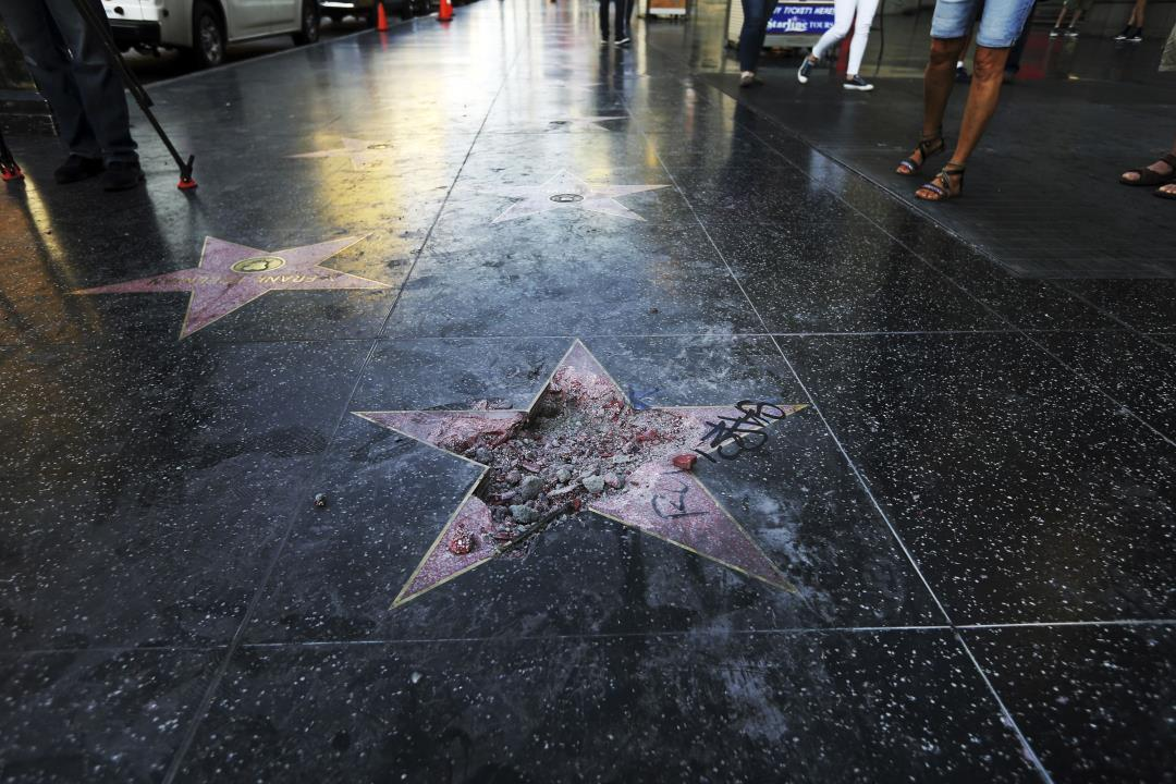 Unanimous Vote on Trump's Hollywood Star: It Must Go