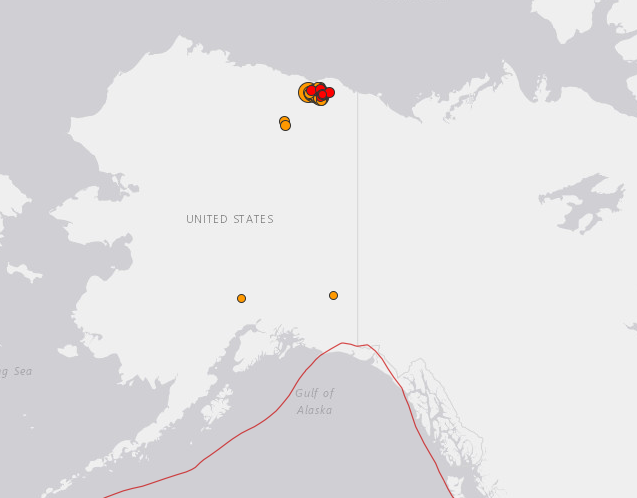 Strongest Quake on Record Hits Alaska's North Slope