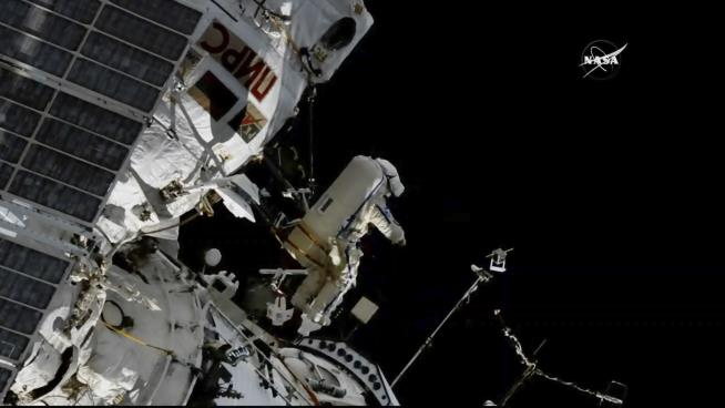 Tiny pressure leak discovered on International Space Station, NASA says