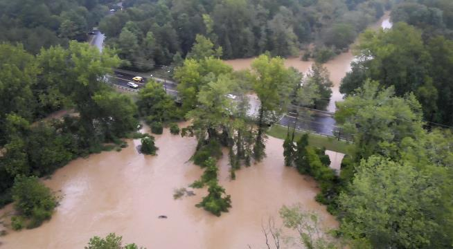 1-year-old boy swept away by floodwaters in North Carolina