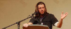 David Foster Wallace speaking in San Francisco.