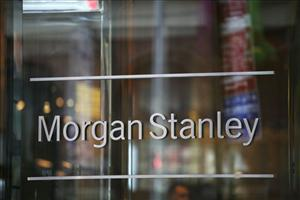 Morgan Stanley headquarters is shown in New York.