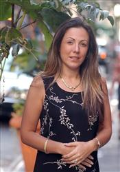 Amy Fisher poses for a photograph in New York, in this  Oct. 1, 2004 file photo.
