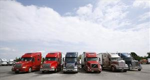 More than 137,650 trucks went off the road last year as thousands of trucking firms went out of business.