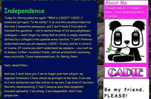 CADIE's website.