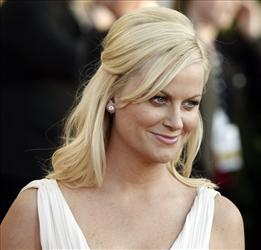 Amy Poehler arrives at the 15th Annual Screen Actors Guild Awards on Sunday, Jan. 25, 2009, in Los Angeles.