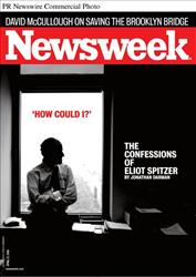 The April 27 issue of Newsweek includes 'How Could I?': The Confessions of Eliot Spitzer.