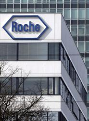 The headquarters of pharmaceutical company Roche are seen in Basel, Switzerland. Shares in Roche jumped as investors reacted to the outbreak of swine flu.