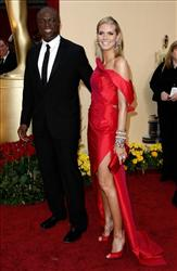 Singer Seal and model Heidi Klum arrive for the 81st Academy Awards on Feb. 22, 2009, in Hollywood, Calif.