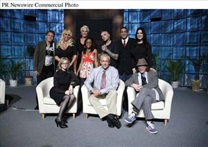 Top, from left: Jeff Conaway, Mary Carey, Brigitte Nielsen, Jaimee Foxworth, Seth Shifty Binzer, Ricco Rodriguez and Chyna. Bottom, from left: Shelly Sprague, Dr. Drew and Bob Forrest.