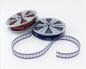 The first celluloid film was developed in 1887.