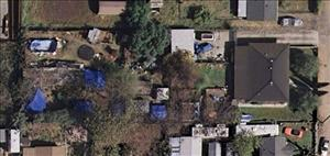 A Google Maps view of the address listed for Phillip Garrido in Antioch, Calif.