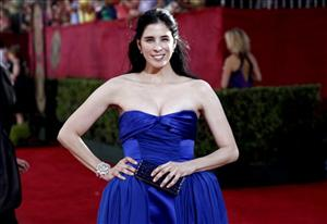 Sarah Silverman arrives at the 61st Primetime Emmy Awards on Sunday, Sept. 20, 2009, in Los Angeles.