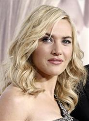In this Dec. 15, 2008, file photo, Kate Winslet poses at the premiere of Revolutionary Road in Los Angeles.