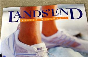A Lands' End catalog.