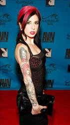 Adult film actress Joanna Angel -- who grew up in an Orthodox home -- arrives at the 26th annual Adult Video News Awards Show.