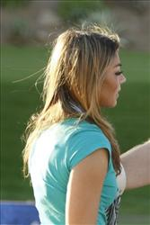 Jaimee Grubbs in a scene from VH1's reality series, Tool Academy.