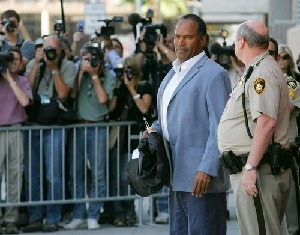O.J. Simpson Attends Bail Hearing On Robbery Charges. Blacks in the survey are probably saying, 'We're sort of fed up with this guy,'  said Earl Smith, a Wake Forest University professor who wrote Race, Sport and the American Dream. If you look at his actions since the murder,...