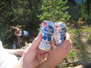 A Pabst toast.