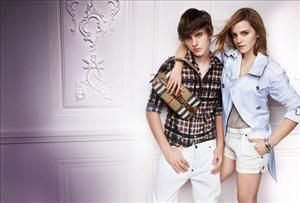 Poor Emma Watson has apparently lost a limb posing in this Burberry ad with her brother.