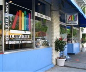 "Atlanta's ""gay epicenter is Midtown, anchored by Outwrite Books, a giant gay bookstore bucking the national trend—by staying in business,"" the Advocate notes."
