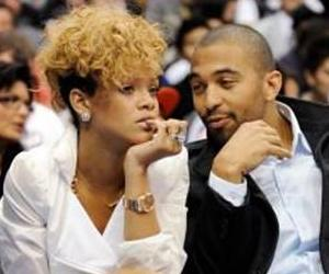 Rihanna and her current beau, Los Angeles Dodgers outfielder Matt Kemp, hit a Lakers game Jan. 16