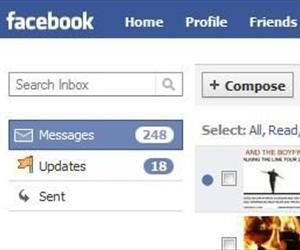 A screenshot of Facebook's current messaging system.
