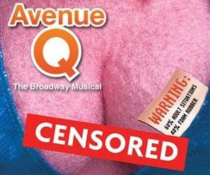 This image provided by NewSpace Entertainment on Tuesday, Feb. 23, 2010 shows a promotional poster for the play Avenue Q.