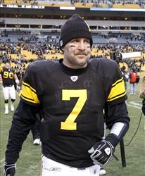 Pittsburgh Steelers quarterback Ben Roethlisberger.