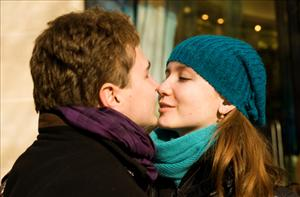 Sometimes a kiss is not just a kiss, but a month-long prison sentence.