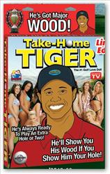 The Tiger Woods doll from Pipedream Products.