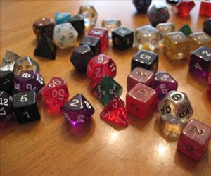 Dungeons & Dragons dice.